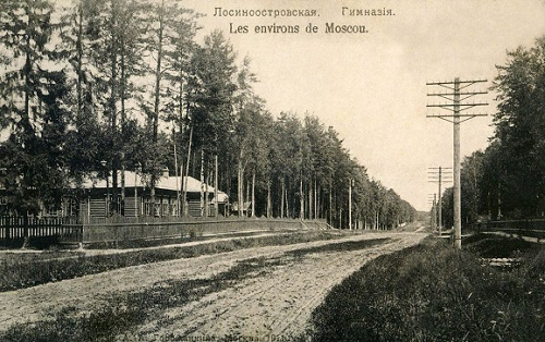 Мытищи в 1918 году. (Кинохроника и галерея старых фото) Лосинка