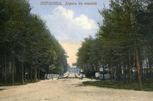 Мытищи и окрестности (Кинохроника и галерея старых фото) Перловка станция нач 20 века