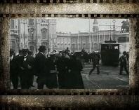 Европейские страны в 19 веке. Старая кинохроника. Италия. Франция.