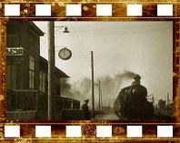 Железнодорожный транспорт России в начале XX века. Кадры кинохроники