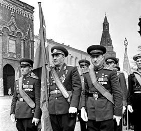К. Я.Самсонов на Параде Победы 1965 г.